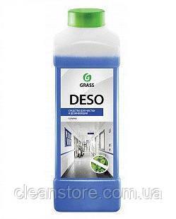 """Средство для чистки и дезинфекции Grass """"Deso"""" (С10), 1л., фото 2"""