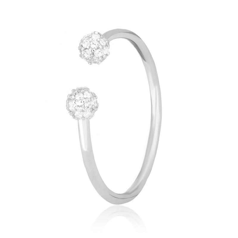 """Серебряное кольцо с камнями """"292"""""""