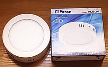 Світлодіодна панель 6w Feron AL504 32LED 480Lm