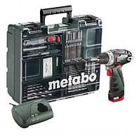 Аккумуляторный шуруповерт Metabo PowerMaxx BS Mobile Workshop