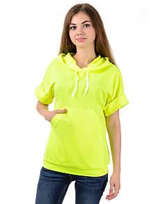 Женское худи с коротким рукавом MG08