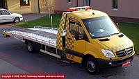 Легкий автоэвакуатор на базе Mercedes Benz Sprinter SWB