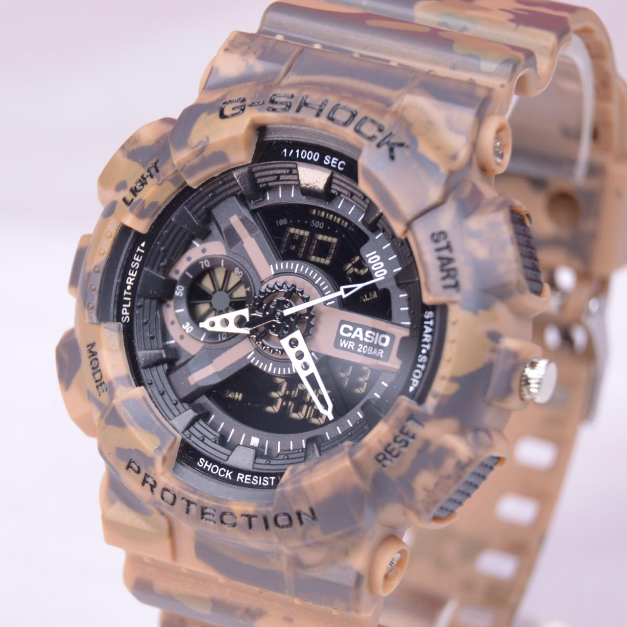 Часы наручные Casio G-SHOCK камуфляж  копия