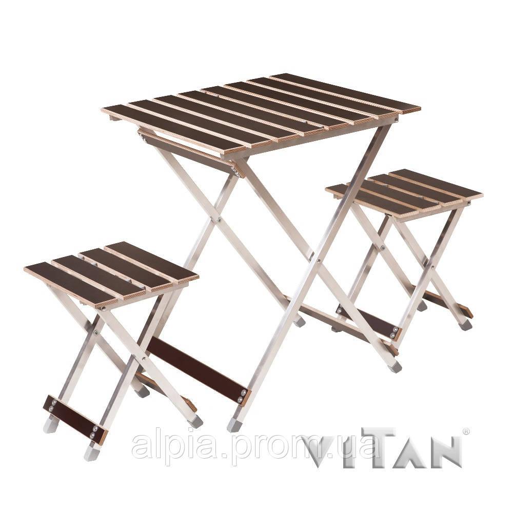 "Набор мебели Vitan ""Aluwood"" малый"