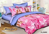 """Детское постельное бельё для принцесс """"Барби в розовом платье"""""""
