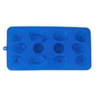 Форма Kamille силиконовая для льда 21.5*11*1.5см