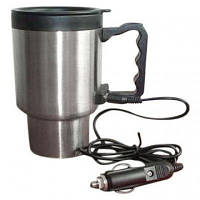 Автокружка с подогревом Stainless Steel Smart Mug
