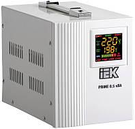 Стабилизатор напряжения переносной серии Prime 0,5 кВА IEK, фото 1