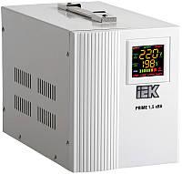 Стабилизатор напряжения переносной серии Prime 1,5 кВА IEK, фото 1