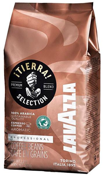 Кофе Lavazza Tierra (кофе Лавацца Тиерра) в зернах 1 кг