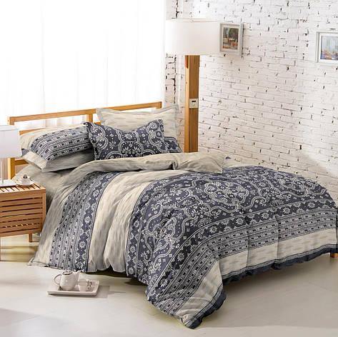 Постельное бельё двухспальное 180*220 хлопок (6174) TM KRISPOL Украина, фото 2