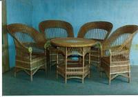 Плетеная мебель из екологически чистой лозы Натуральный
