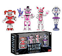 "Набор фигурок 5 ночей с Фредди /Funko 2"" Action Figure Five Nights at Freddy's Sister Location Set 1"