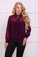 Женская слиловая  блуза АНИТА ТМ Таtiana 52-62  размер