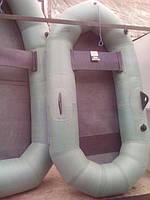 Лодка резиновая надувная одноместная с уключинами
