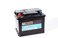 Аккумулятор HAGEN - 60A +правый 500 А