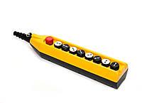 Крановый пульт управления 8-кнопочный, 1 скорость (жёлто-чёрный) PV9Т1Х2222 ЭМАС