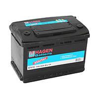 Аккумулятор HAGEN Batterie - 74 +правый 680 А
