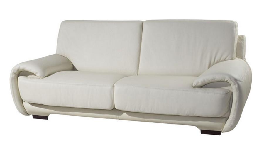 Современный кожаный диван ELDORADO (215 см)