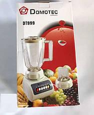 Блендер 2 в 1 Dоmotec PLUS DT-999, фото 3