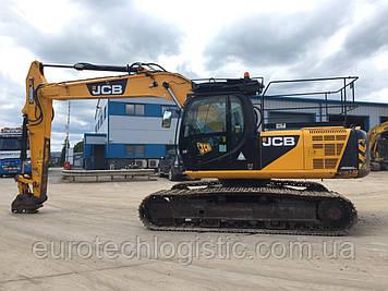 Гусеничный экскаватор JCB JS220LC.