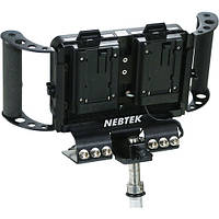 Обвес держатель кронштейн Nebtek Odyssey7 Power Bracket with Dual Sony L Series Plates, фото 1