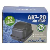 Аэратор AquaKing AK²-20 (Мембранный компрессор, аэратор для пруда, водоема, септика, УЗВ)