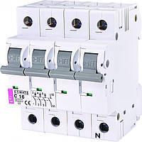 Автомат ETIMAT 6 3p+N C 16А (6 kA), ETI