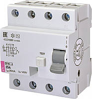 УЗО (диф. реле) EFI6-4 16/0,03 тип AC (6kA)
