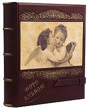 Семейный фотоальбом из натуральной кожи Кажан