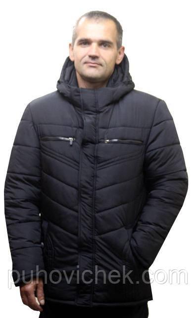 Зимові чоловічі куртки великих розмірів