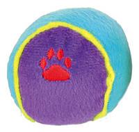 Мяч Trixie Toy Ball для собак плюшевый, 6 см, фото 1