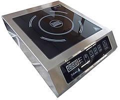 Индукционная плита 1 конфорочная 3,5кВт для профессиональных кухонь