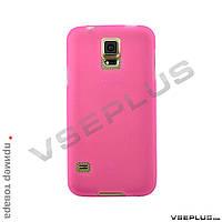 Чехол (накладка) Samsung I8190 Galaxy S3 mini, Original Silicon Case, розовый
