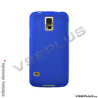 Чехол (накладка) Samsung i8262 Galaxy Core Duos, синий