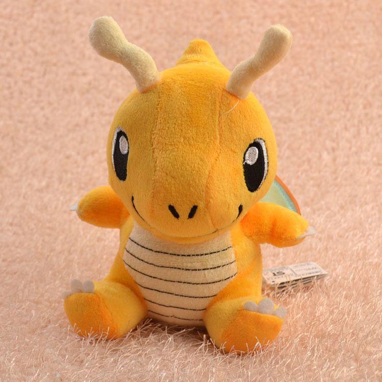 Игрушка покемон Драгонайт, мягкая плюшевая игрушка покемон драгонайт 25 см