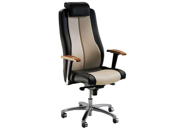 Кресло компьютерное с подголовником ТОПАЗ высокое