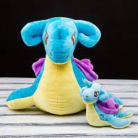 Покемон Лапрас (Lapras) мягкая игрушка, 27 см