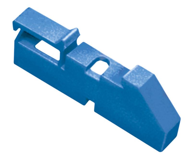 Изолятор DIN синий