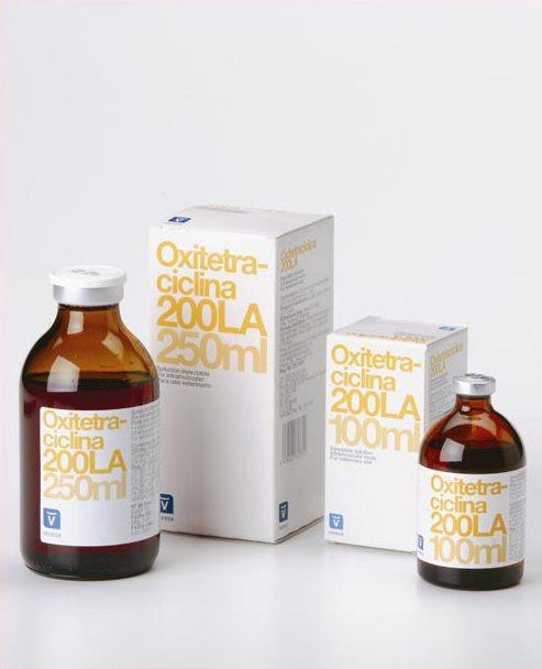 Окситетрациклин 200 LA 250 мл INVESA (Испания) ветеринарный антибиотик широко спектра действия
