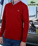 Свитер мужской Lacoste-48 красный