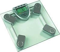 Стеклянные весы напольные для взвешивания человека до 150 кг First FA-8006