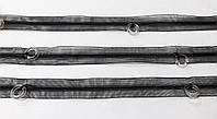 Тесьма  с  кольцами  силиконовая   черная