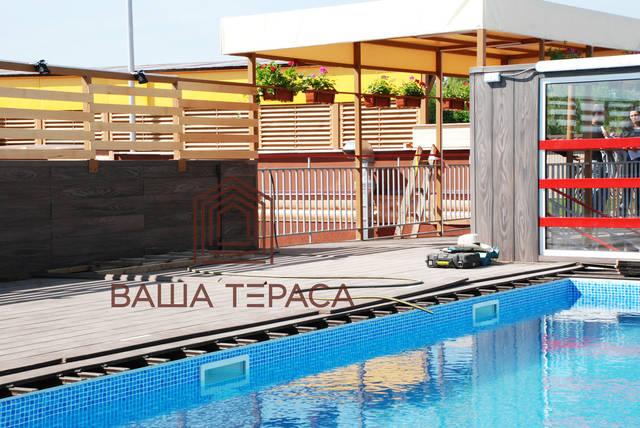Тераса на території СПА-центру