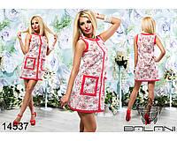 Стильное  легкое  платье  из  коттона  -  14537