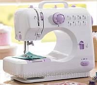 Портативная Швейная Машинка 505 8 Типов Строчки с Ножной Педалью