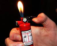 Прикольная Газовая Зажигалка Огнетушитель