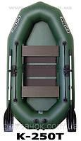 Лодка надувная весельная гребная ПВХ KOLIBRI K-250 T, фото 1