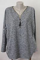 Блуза женская замочек - 2