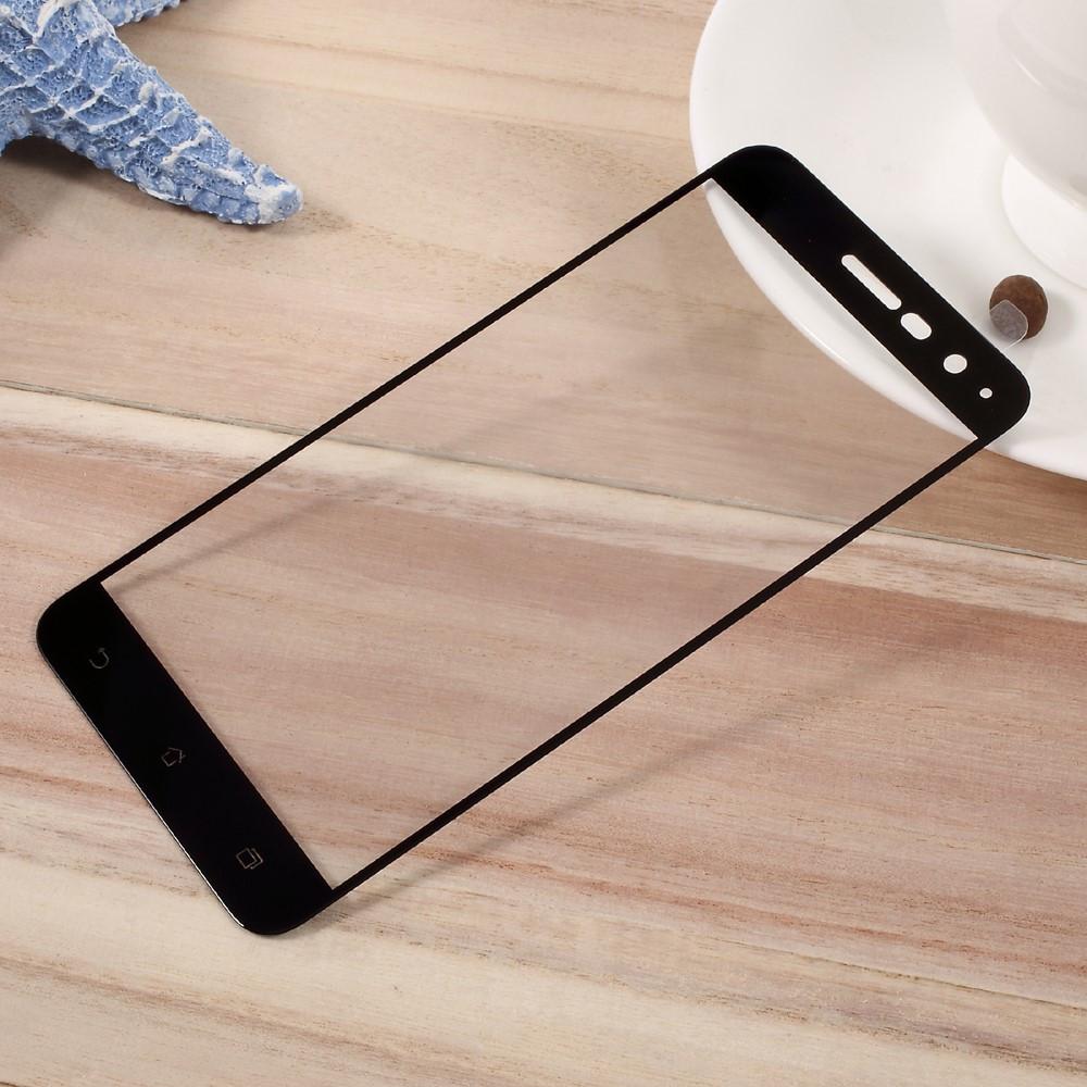 Защитное стекло Optima 2.5D 9H на весь экран для Asus Zenfone 3 ZE520KL черный
